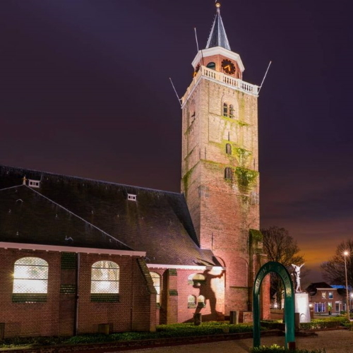 kerk background rijnsburg